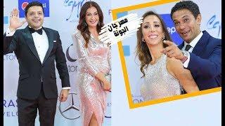 هنيدي وآسر ياسين وحسام غالي في ختام مهرجان الجونة