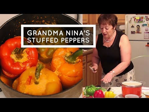 How To Make Stuffed Peppers Soviet-Style: Russian Jewish Grandma's Recipe (EPISODE #3)