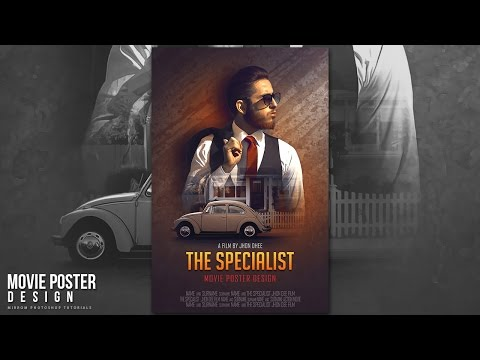 How To Create a Dramatic Movie Poster In Photoshop