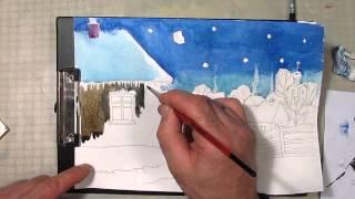 Рождественский вечер в деревне. Часть 2. Урок 45