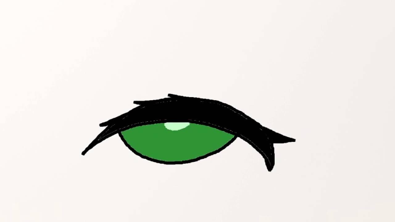 Blinking Anime Eye