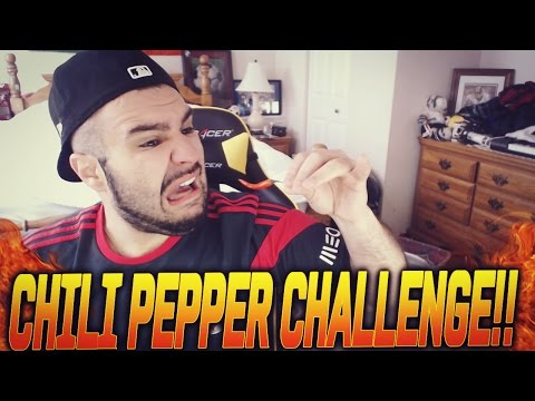 FIFA 15 - WTF CHILI PEPPER CHALLENGE!!