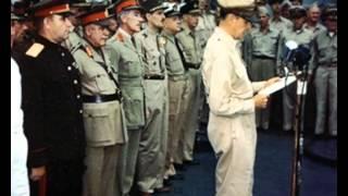 2.09.1945 год. Капитуляция Японии в цвете. (END WWII)