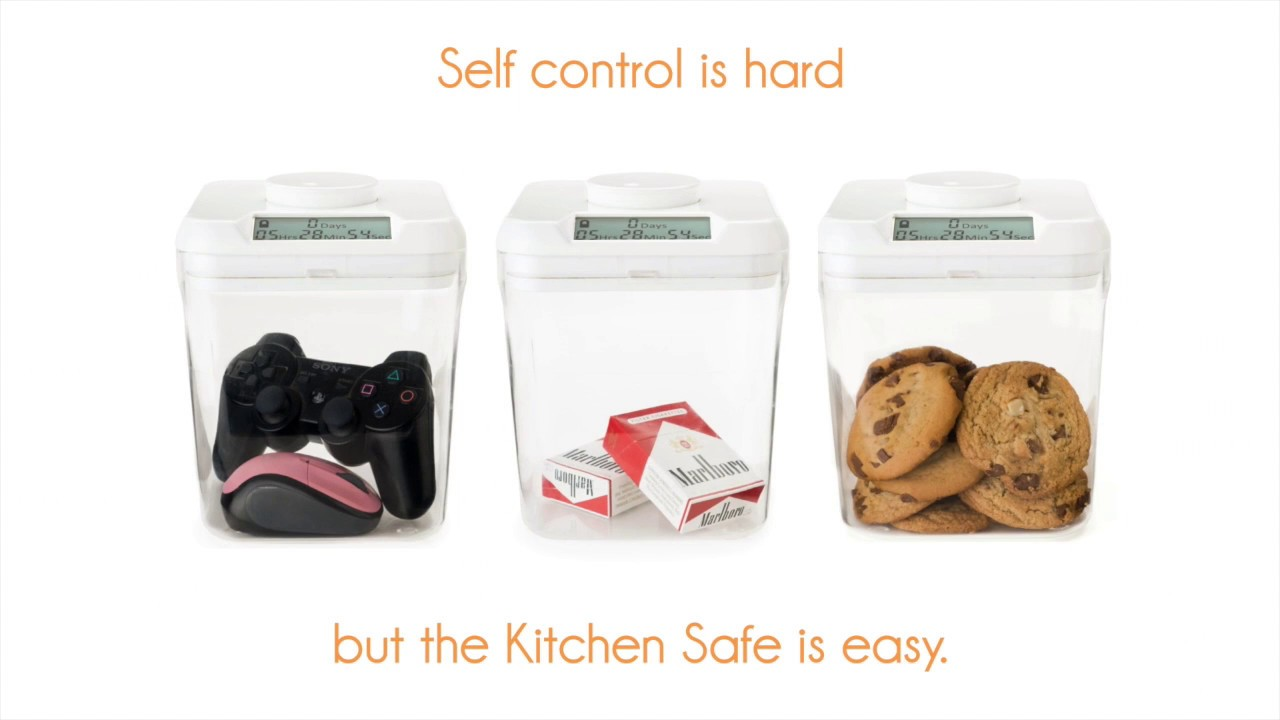 Self Control Is Hard   Kitchen Safe Is Easy