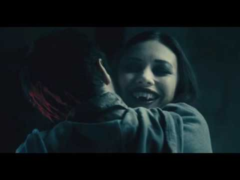 Olga Kurylenko is sucking Elijah Wood blood   (vampire love)