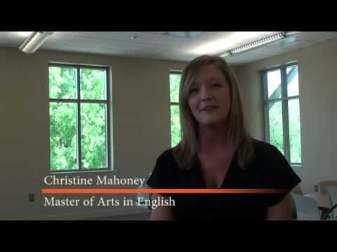 Master of Arts in English