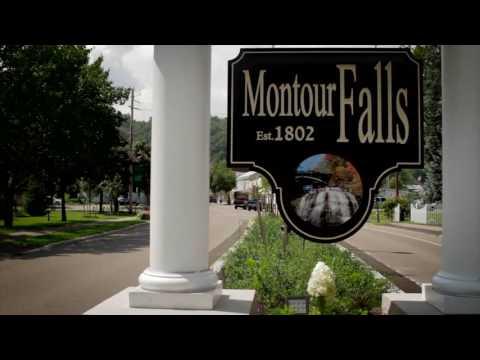 Montour Falls    Uniquely New York   Foundations