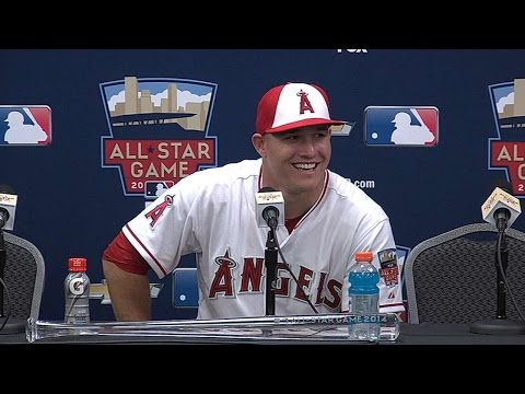 2014 ASG: Trout on playing with Jeter in ASG