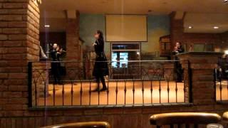 Грузинский национальный танец. Тбилиси.(Видео снято в Тбилиси, январь 2013, ресторан Merzoni., 2013-02-17T19:29:26.000Z)