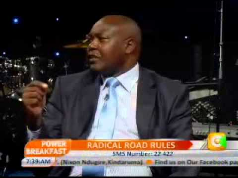 Power Breakfast  Interview with Francis Meja-Director General,NTSA Prt 1