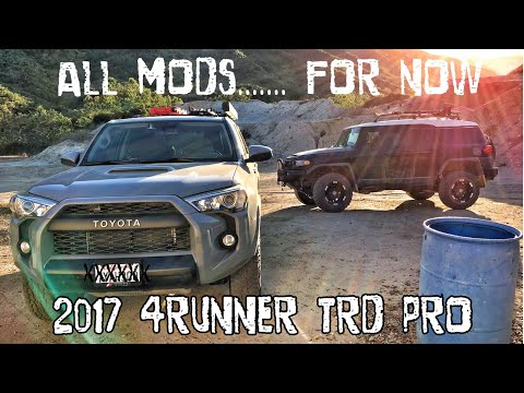 【22】all-mods-so-far...-must-see!!-2017-4runner-trd-pro-cement-[hd]