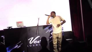 Brandon Super Suave Sexton performs for the first time @ Vee Lounge