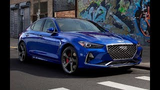 2019 Hyundai Genesis G70 - Stylish Sports Sedan !