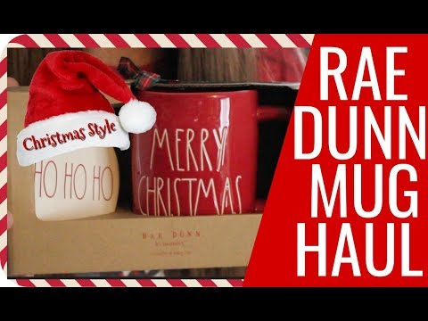 Rae Dunn Christmas Mugs Haul Part 2 of What I have found so far!!