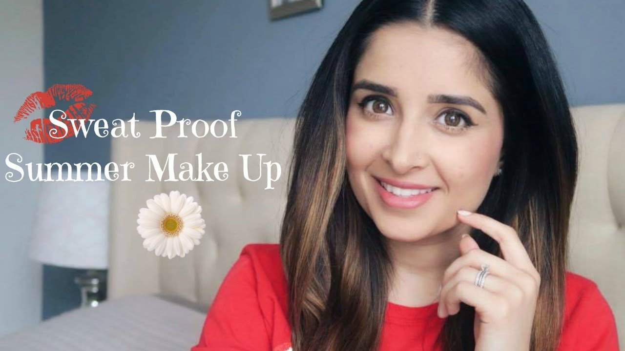 sweat proof foundation sweat proof summer makeup tutorial 10961