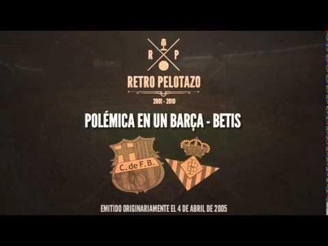 Polémica en un Barça - Betis