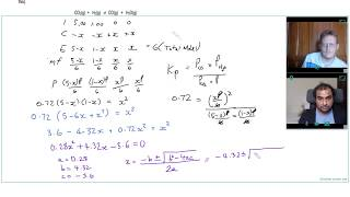 HOW TO USE A QUADRATIC EQUATION to SOLVE a DIFFICULT Kp QUESTION | A Level Chemistry Tutor
