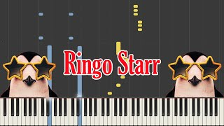 Pinguini Tattici Nucleari - Ringo Starr (Piano Cover & Tutorial) Sanremo 2020