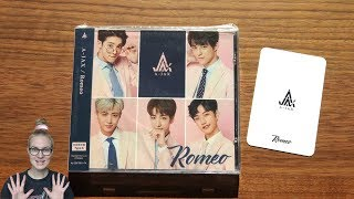 Unboxing A-JAX 3rd Japanese Single Album Romeo [Limited Type A Edition]