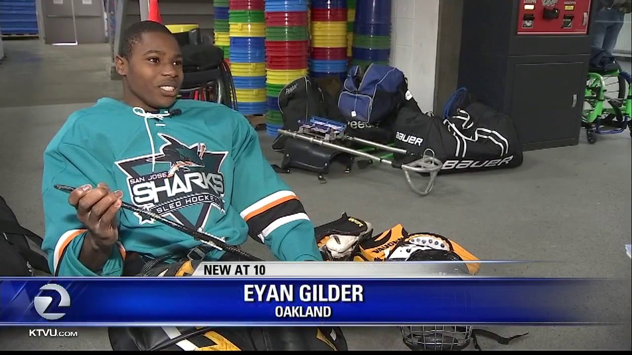 SJ Sharks youth sled hockey team defy physical disability