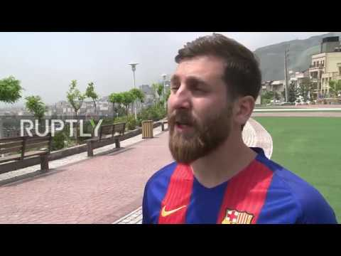 Iran: Spot-on MESSI doppelganger has Barcelona fans in a frenzy