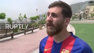 Iran: Spot-on MESSI doppelganger has Barcelona fans in a frenzy
