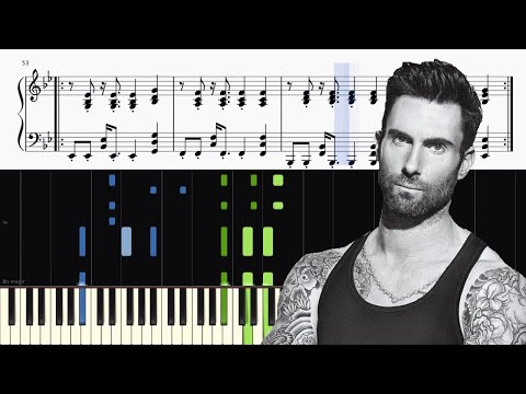 Maroon 5 - What Lovers Do  (feat. SZA) - Piano Tutorial + SHEETS