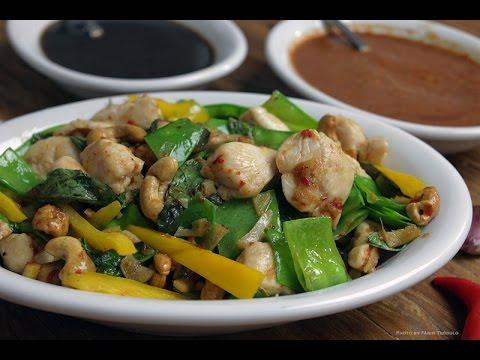 Frango com castanha de cajú a moda Thai – Chef Taico