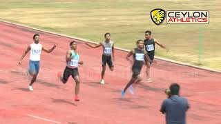 100m Mens Finals l 2018   Commonwealth Games Trials