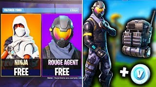 """NEW Fortnite UPDATE! - How to Get """"Rogue Starter Pack"""" NEW SKIN UPDATE! Fortnite Battle Royale"""