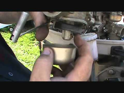 SETTING CARB FLOAT ON A 2 STROKE