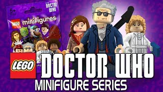 LEGO Minifigures Series - Doctor Who! Zygons! The Silence! Bill Potts! Who would you like to see?