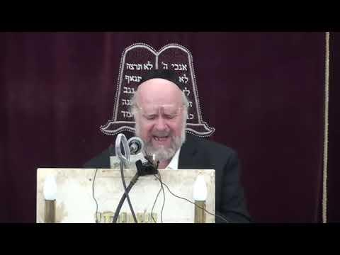 הרב ברוך רוזנבלום - הרצאה ברמה גבוהה על פרשת קורח - פרשת קורח הרב ברוך רוזנבלום