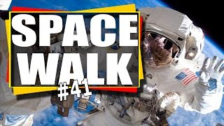 NASA TV: ISS Expedition 50 U.S. Spacewalk # 41 Shane Kimbrough and Peggy Whitson