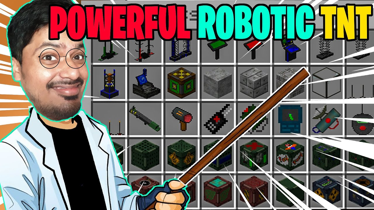 Robotic ** RED MATTER TNT ** WARNING: THIS TNT BLOCK WILL DELETE MINECRAFT!   | minecraft hindi
