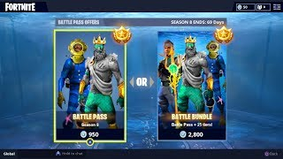 *NEW* SEASON 8 BATTLE PASS BUNDLE! FORTNITE SEASON 8 SKINS LEAKED! (FORTNITE SEASON 8 TIER 100 SKIN)