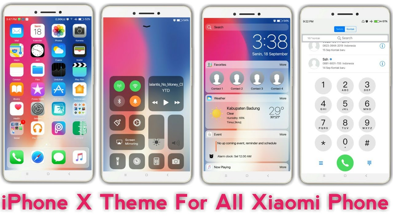 download tema xiaomi ios 11 pro v1.2