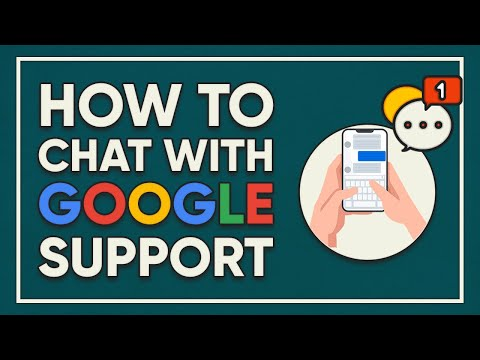 How To Chat With Google Support