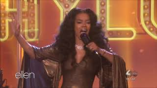 "Teyana Taylor sings ""Hold On"" Live in Concert on Ellen April 18, 2019 HD 1080p"