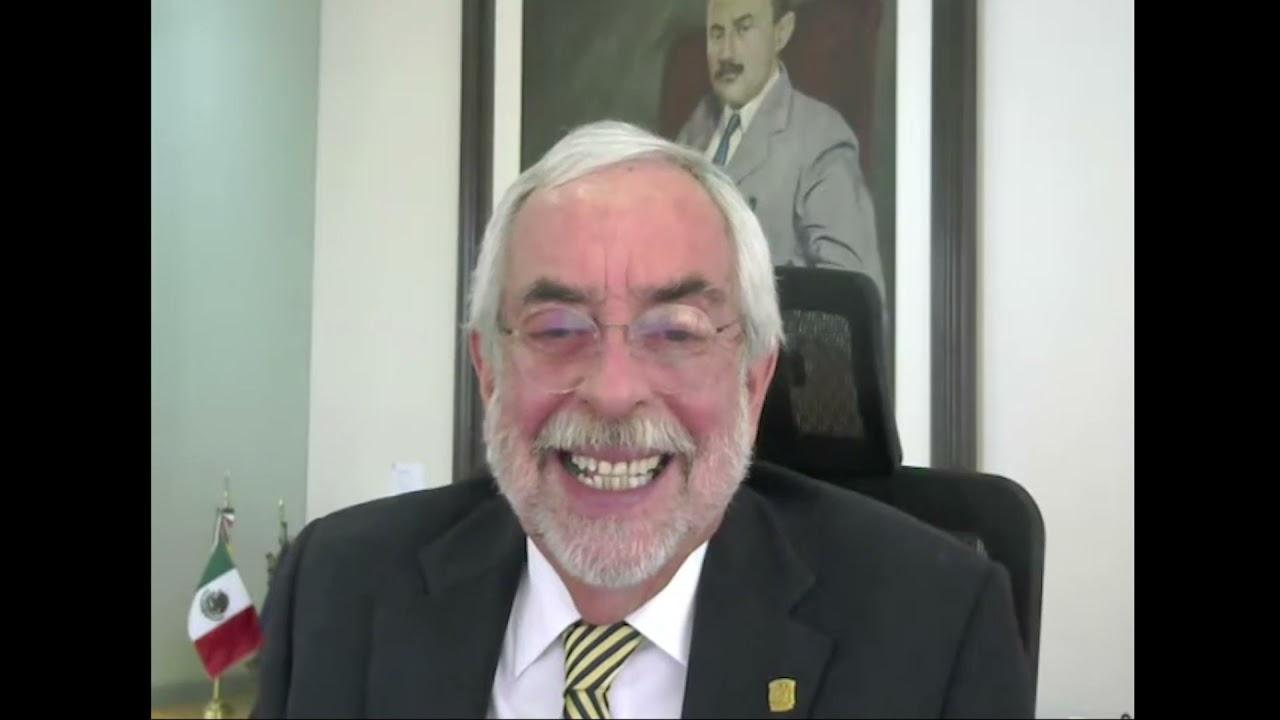 Saludos del Dr. Enrique Graue Wiechers, Rector UNAM. UACM, 20 años.