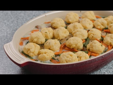 Fall Convection Steam Meals – Chicken and Dumplings