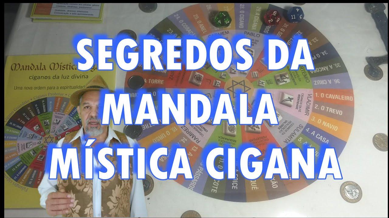 SEGREDOS DA MANDALA   MISTICA CIGANA - WAL HEI