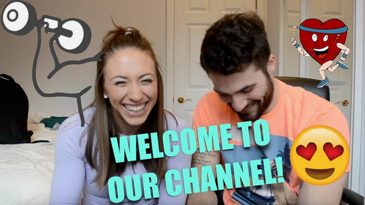 Intro to Our Lives I Our First Video I Health, Fitness, Lifestyle Couple