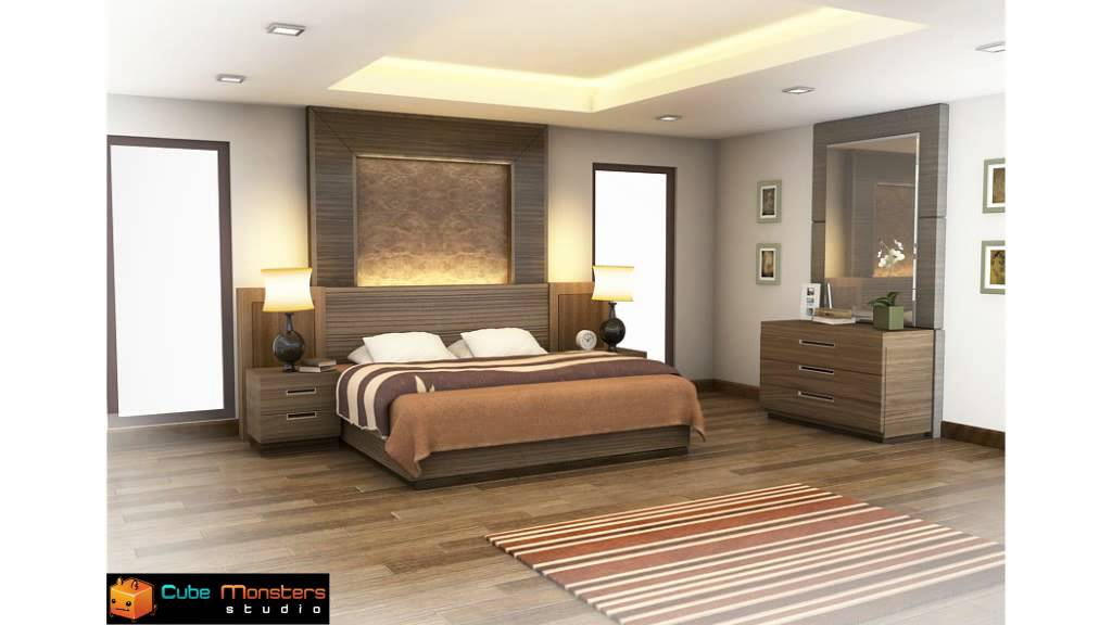 Bedroom Interior Presentation Animation