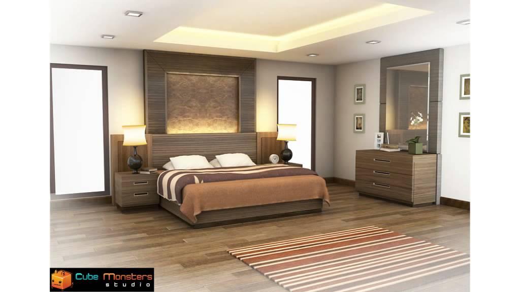 Bedroom Interior Presentation Animation YouTube
