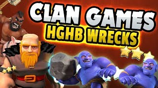HGHB IN CLAN GAMES - GIFTS ARE BACK IN CLASH OF CLANS