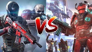 Gameloft VS Madfinger Games - iOS & Android FPS Games