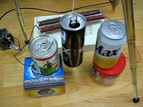 Franklin's Bell experiment with Aluminum Cans(1)