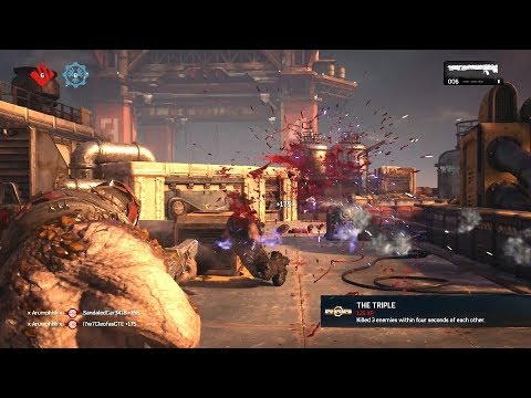 RAGING WHILE REDEFINING IMAGINATION! (Gears of War 4)