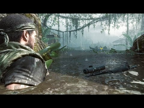 Jungle Stealth Mission - Viet Cong - Call of Duty Black Ops PC Gameplay